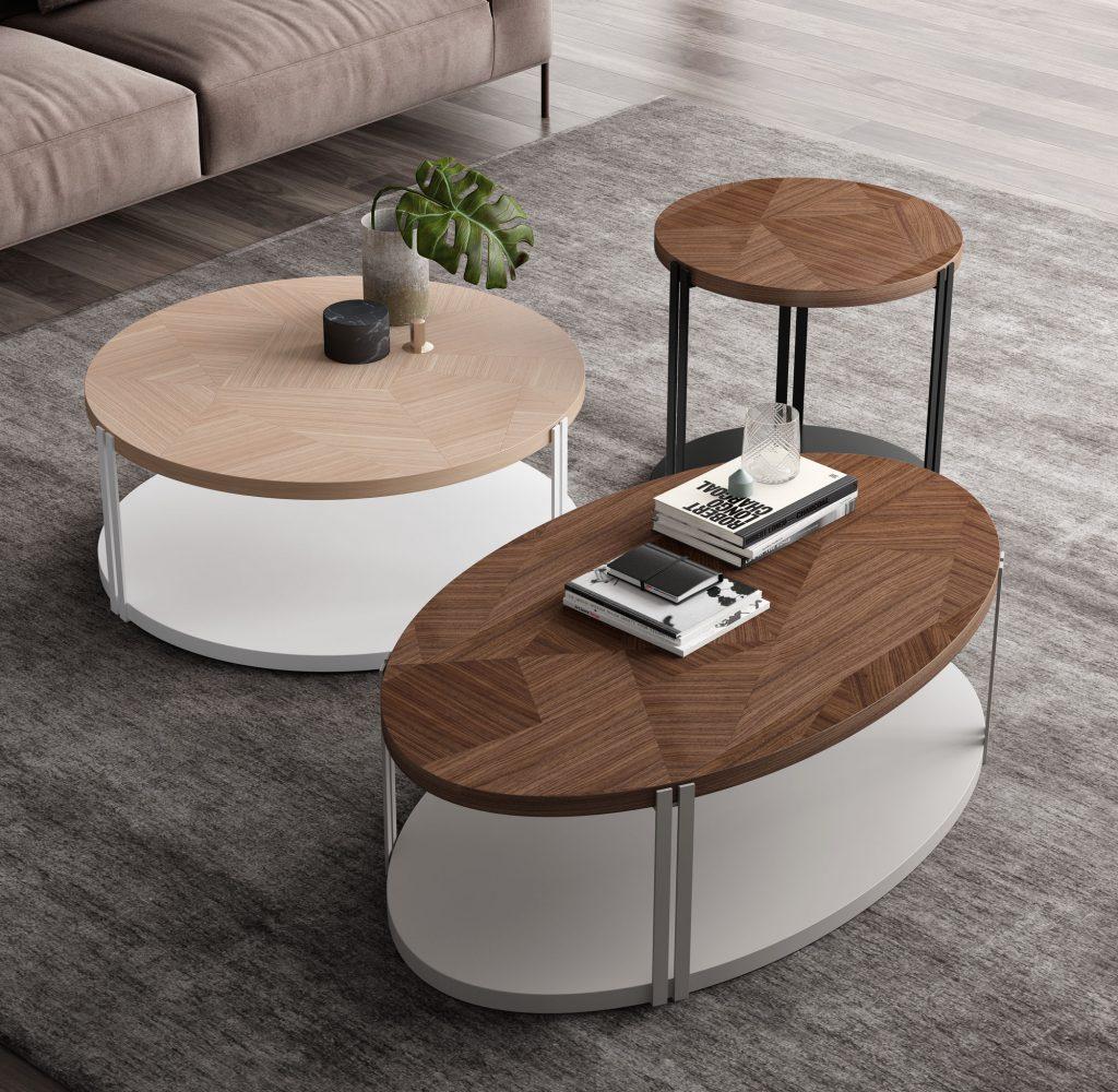 Mesas sofá modernas
