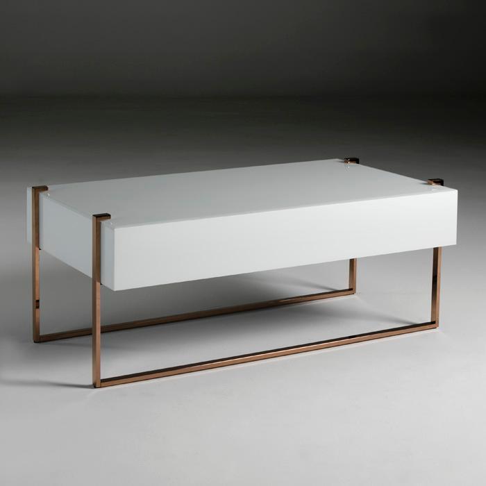 Mesa sofá rectangular diseño