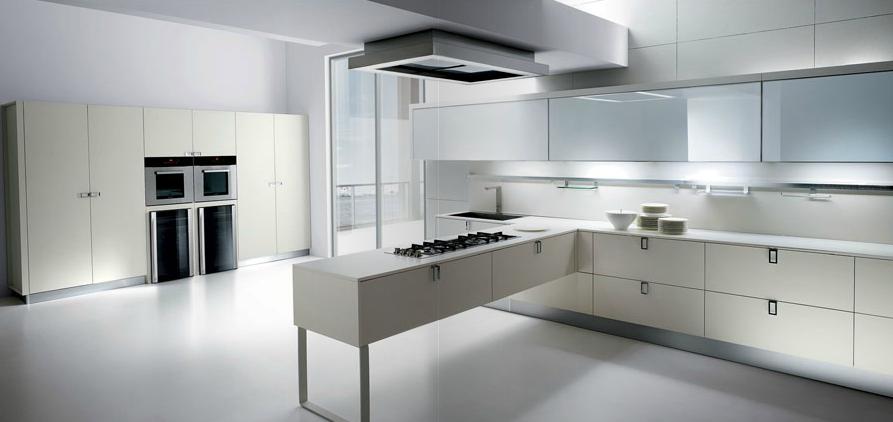 Cocinas con peninsula modernas perfect decoracin diseo for Cocinas modernas blancas con peninsula