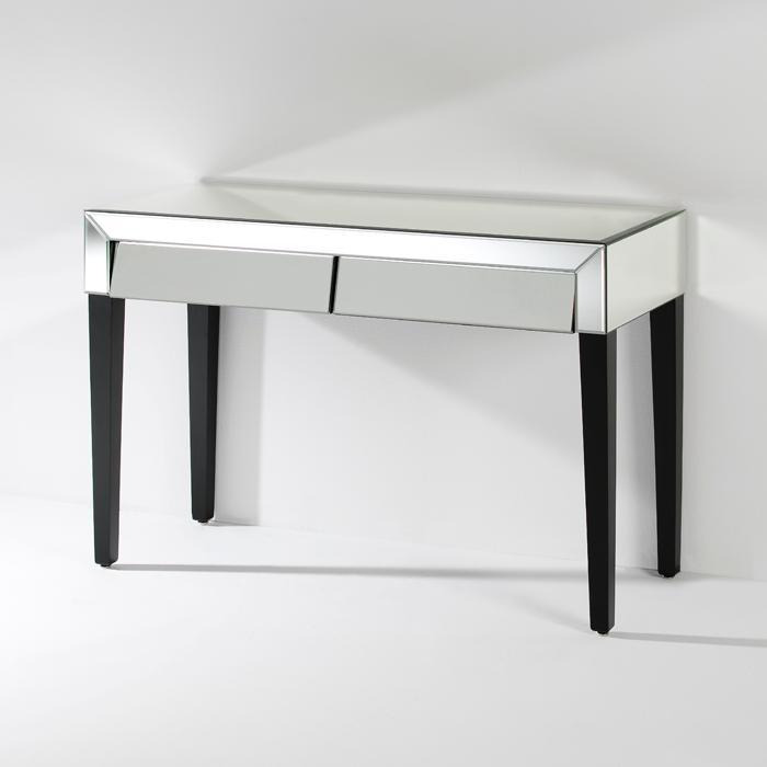 Consola diseño con cajones de espejo