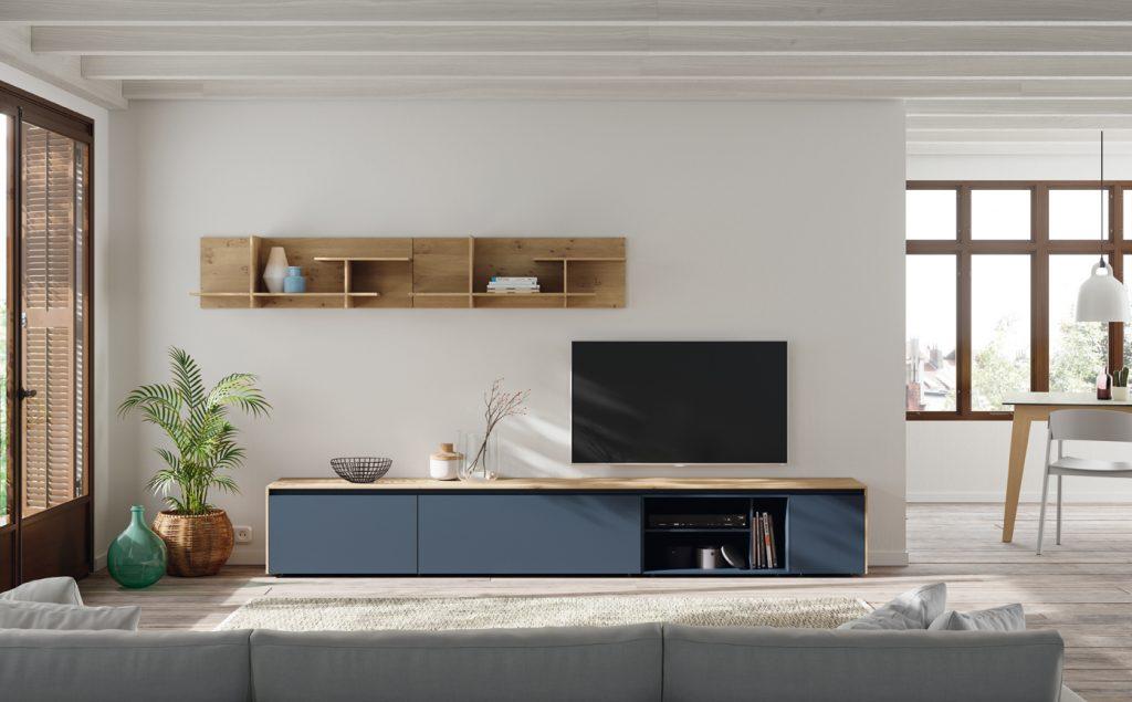 Mobiliario nórdico para el salón