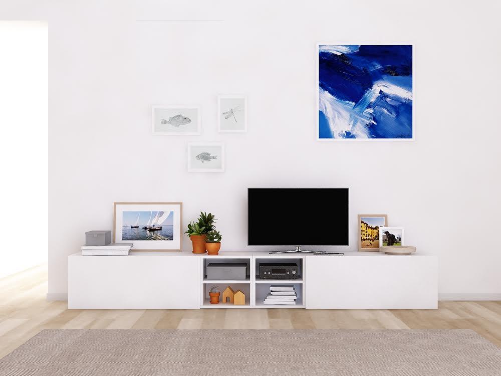 Salón moderno modular