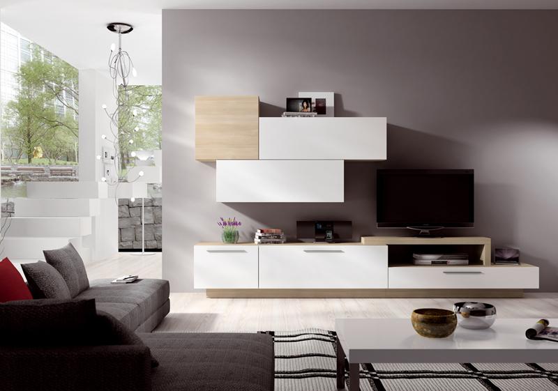 Mobiliario modular para tv de diseño