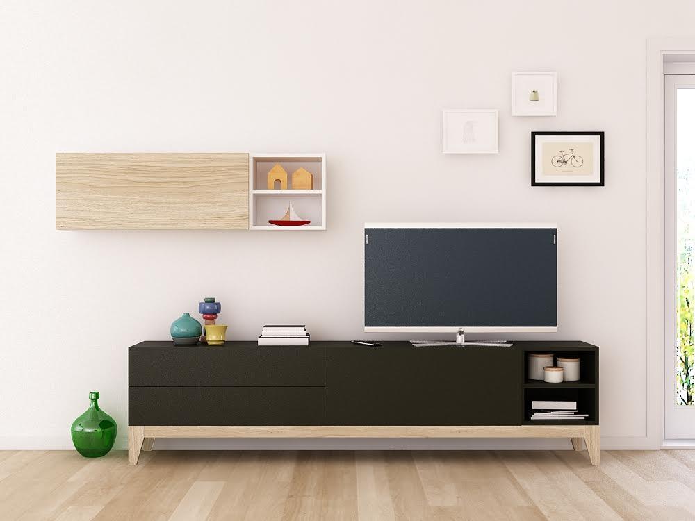 Muebles nórdicos para el salón