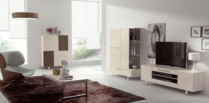 Mobiliario para el salón con aparador moderno
