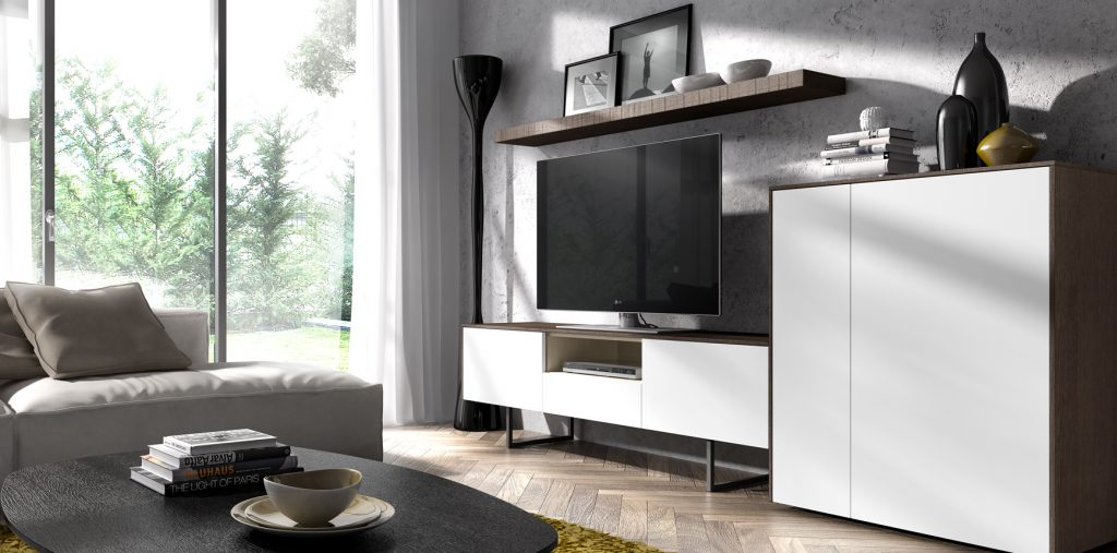 Mueble tv y aparador de diseño