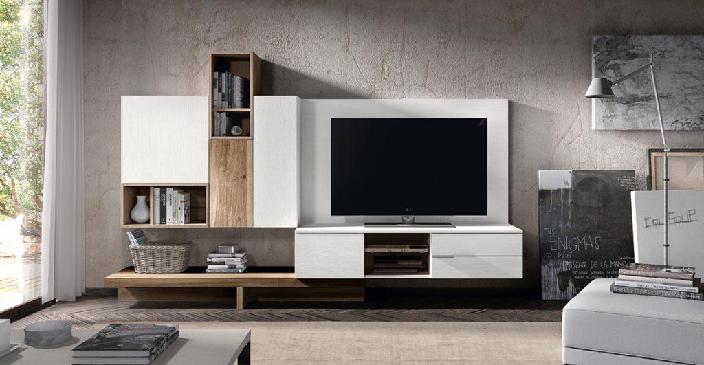 Muebles modulares para salón