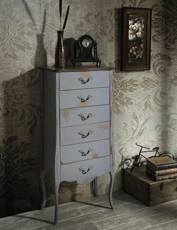 Xinfonier decorado estilo clásico