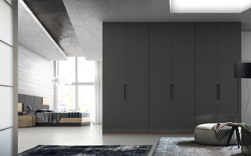 armario abatible puertas lisas